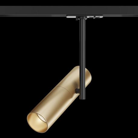 Светильник Maytoni Elti TR005-1-GU10-BG, 1xGU10x50W, черный, золото, металл - миниатюра 2