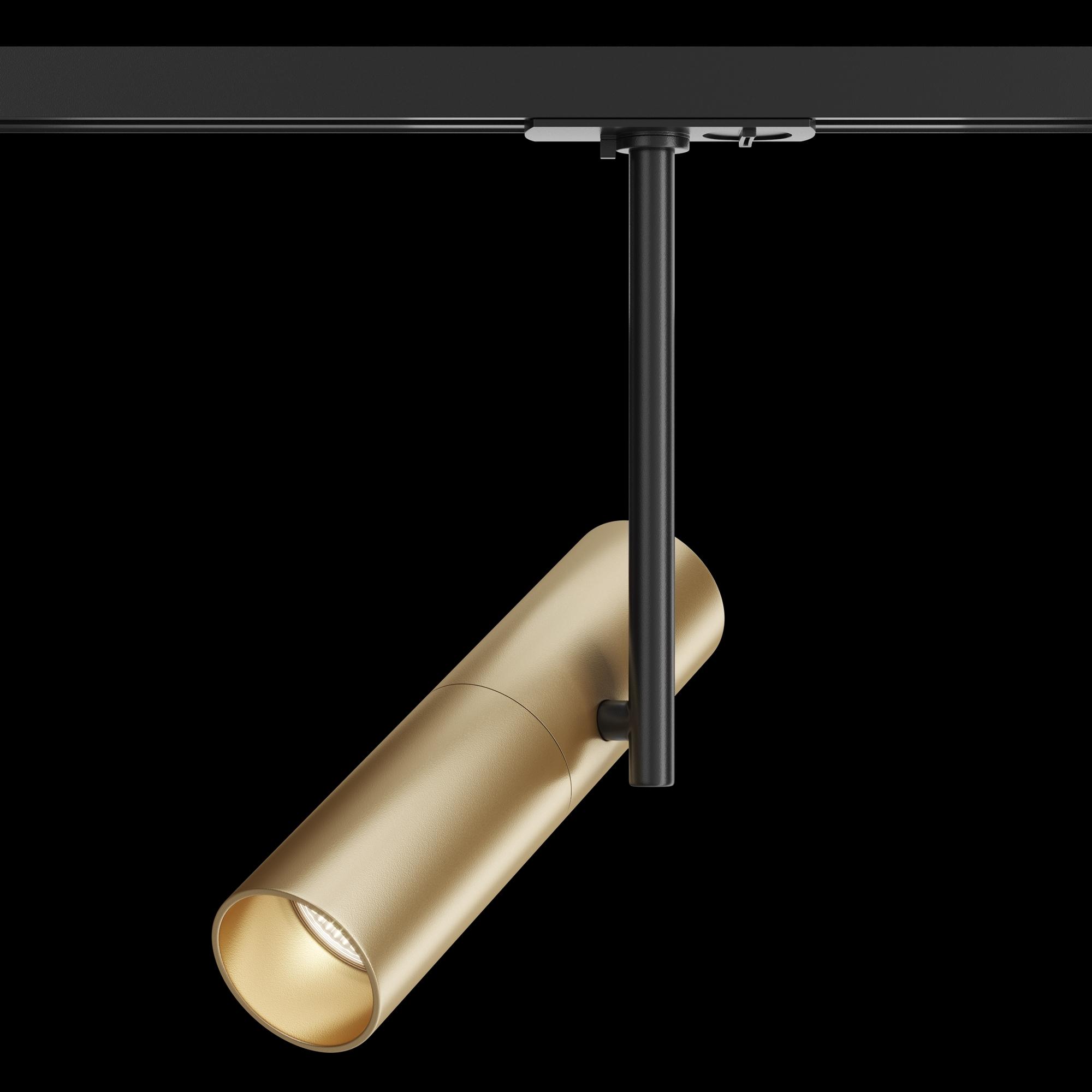 Светильник Maytoni Elti TR005-1-GU10-BG, 1xGU10x50W, черный, золото, металл - фото 2