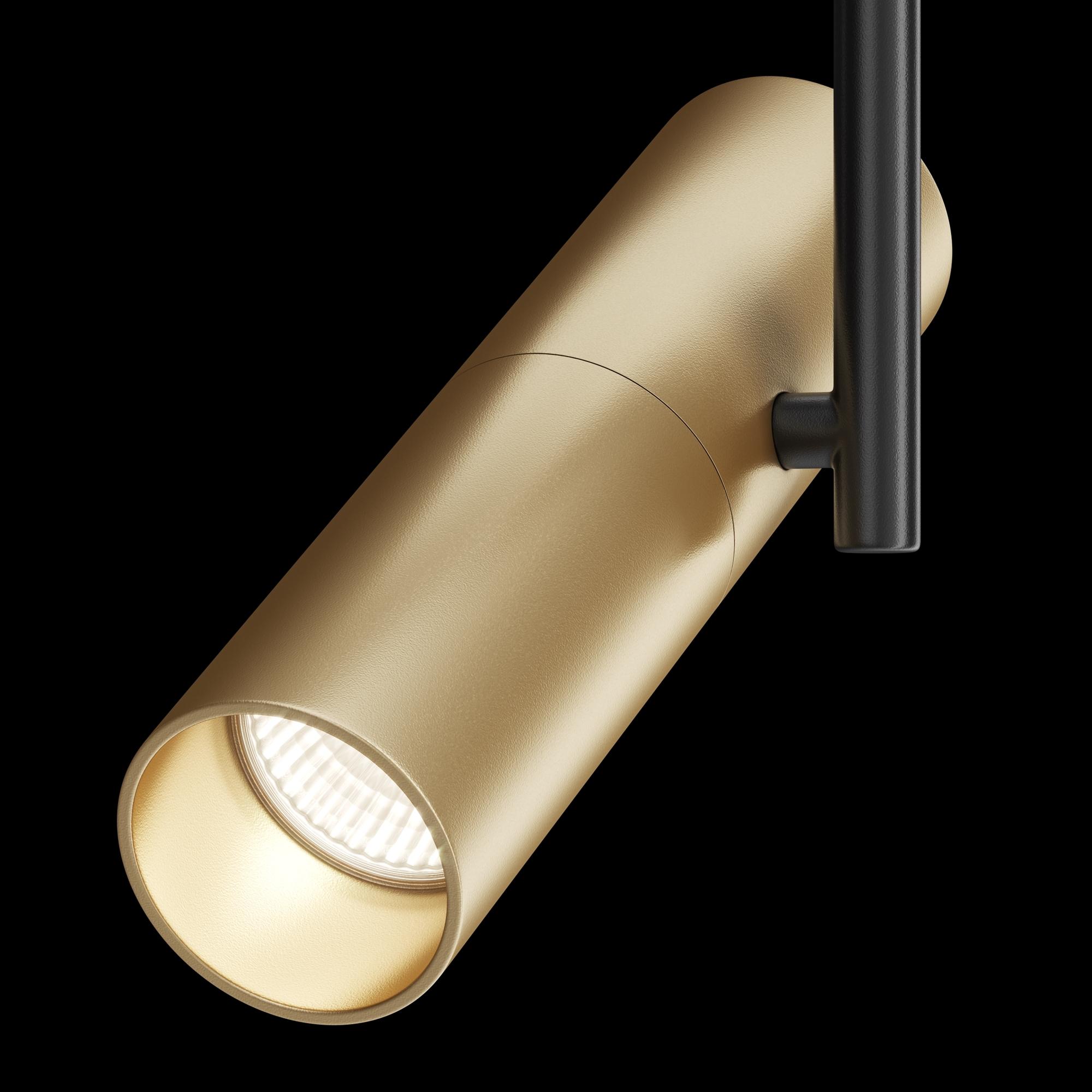 Светильник Maytoni Elti TR005-1-GU10-BG, 1xGU10x50W, черный, золото, металл - фото 3
