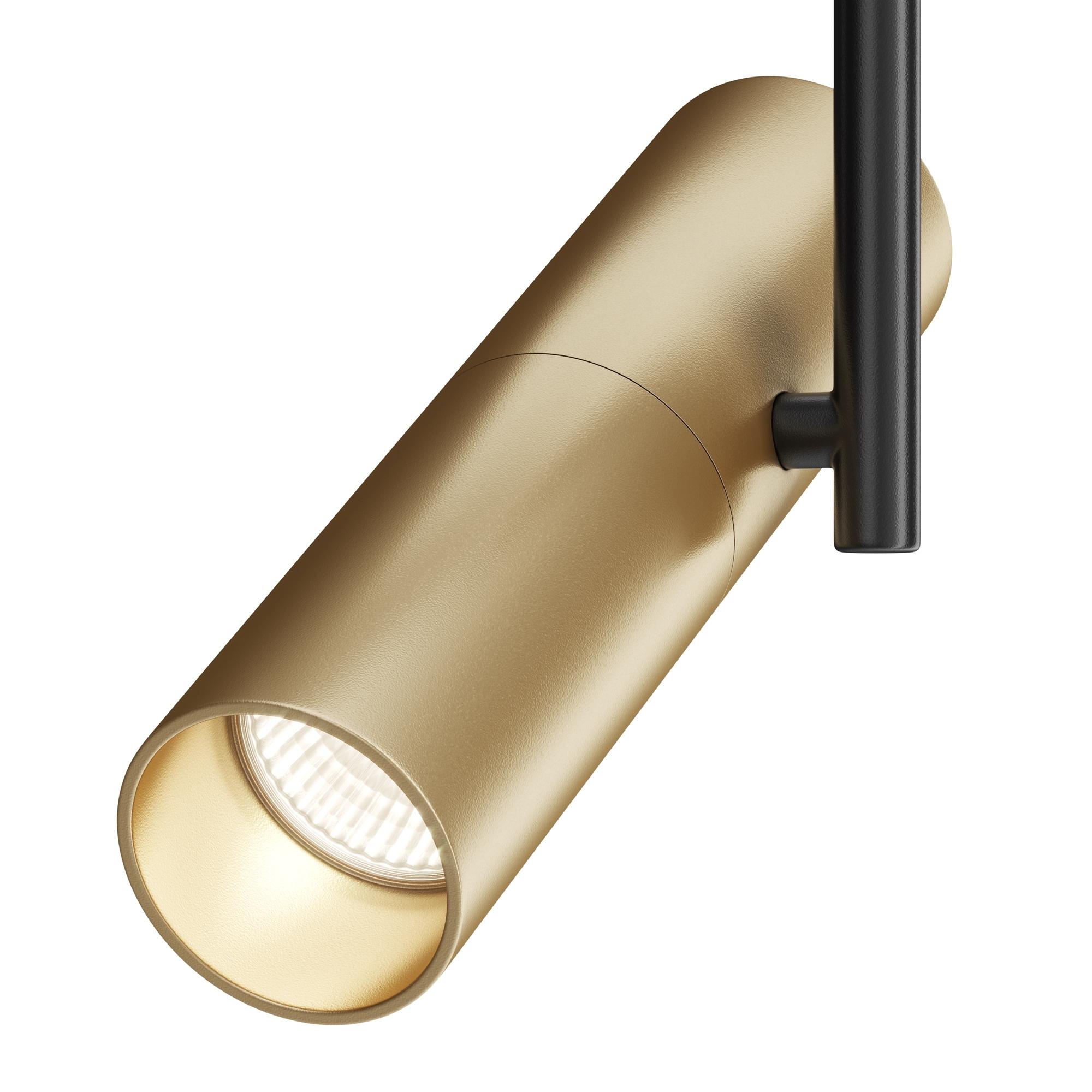 Светильник Maytoni Elti TR005-1-GU10-BG, 1xGU10x50W, черный, золото, металл - фото 4