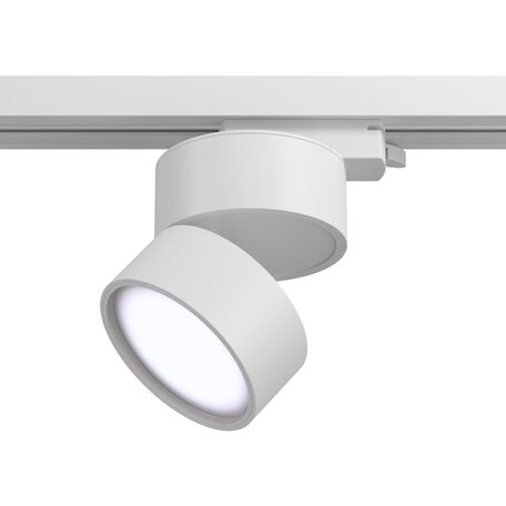 Светодиодный светильник Maytoni Onda TR007-1-12W4K-W, LED 12W 4000K 1000lm CRI80, белый, металл, металл с пластиком