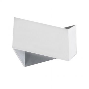 Настенный светильник Crystal Lux CLT 012 WH-SL 1401/440, 1xG9x60W, белый, металл
