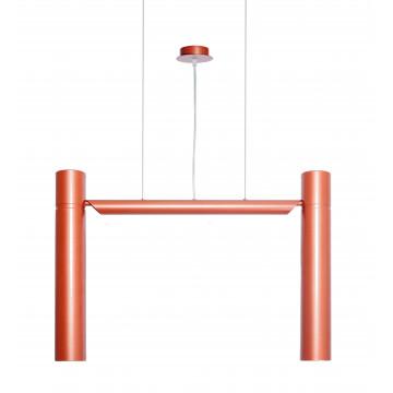 Подвесной светильник Topdecor Double S2 20, 2xGU10x50W, медь, металл