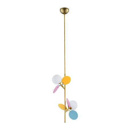 Подвесной светильник Loft It Matisse 10008/2P mult, 2xG9x5W, разноцветный, белый, металл, стекло