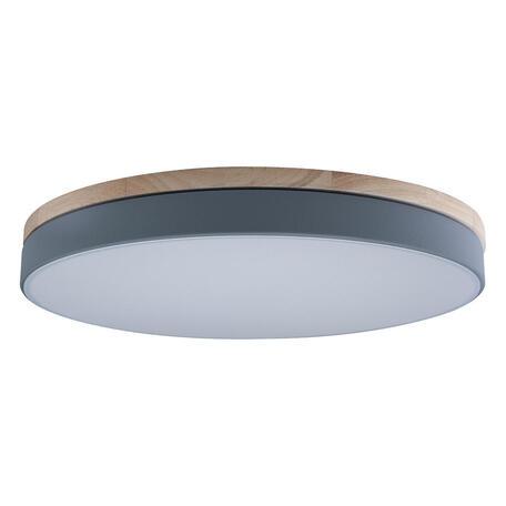 Потолочный светодиодный светильник Loft It Axel 10001/36 Grey, LED 36W 4000K, коричневый, серый, пластик