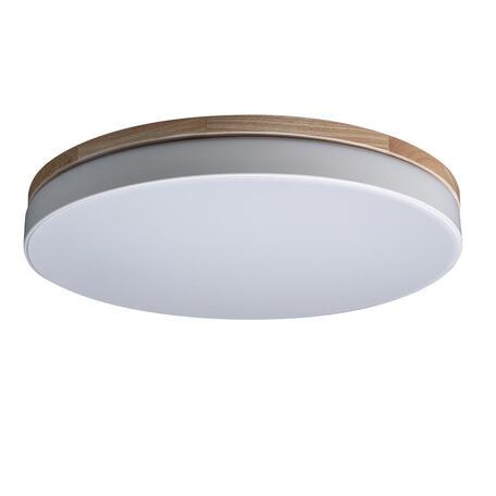 Потолочный светодиодный светильник Loft It Axel 10001/36 White, LED 36W 4000K, коричневый, белый, пластик