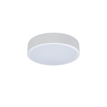 Потолочный светодиодный светильник Loft It Axel 10002/12 White, LED 12W 4000K, белый, пластик