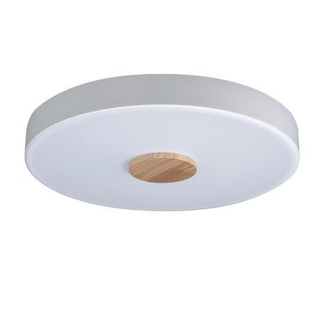 Потолочный светодиодный светильник Loft It Axel 10003/24 White, LED 24W 4000K, коричневый, белый, металл, пластик