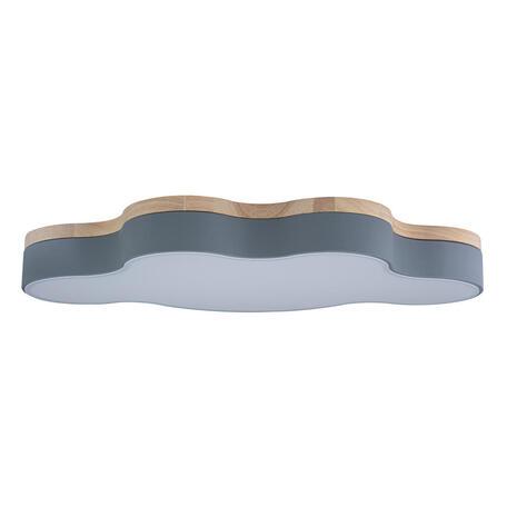 Потолочный светодиодный светильник Loft It Axel 10005/36 Grey, LED 36W 4000K, коричневый, серый, пластик
