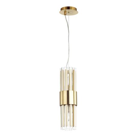 Подвесной светильник Odeon Light Hall Viketa 4786/2, 2xE14x40W, золото, металл, металл со стеклом