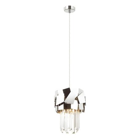 Подвесной светильник Odeon Light Hall Stala 4811/1, 1xE14x40W, хром, прозрачный, металл, хрусталь