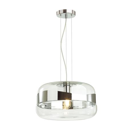 Подвесной светильник Odeon Light Pendant Apile 4813/1, 1xE27x60W, хром, металл, стекло