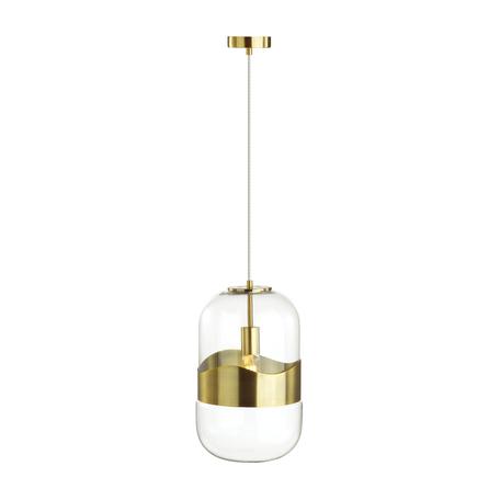 Подвесной светильник Odeon Light Pendant Apile 4814/1, 1xE27x60W, бронза, металл, стекло