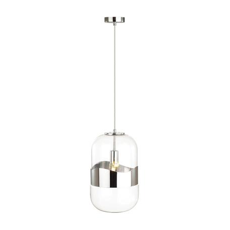 Подвесной светильник Odeon Light Pendant Apile 4814/1A, 1xE27x60W, хром, металл, стекло