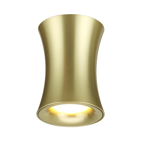 Потолочный светильник Odeon Light Hightech Zetta 4226/1C, IP44, 1xGU10x50W, матовое золото, металл