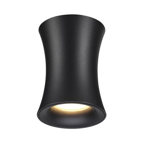Потолочный светильник Odeon Light Zetta 4272/1C, IP44, 1xGU10x50W, черный, металл