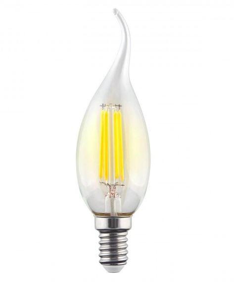 Филаментная светодиодная лампа Voltega Crystal 7094 CW35 E14 9W, 2800K (теплый) 220V, гарантия 3 года - фото 1