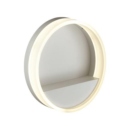 Настенный светодиодный светильник Odeon Light Getti 4145/12L, LED 12W 4000K 720lm, белый, металл, пластик