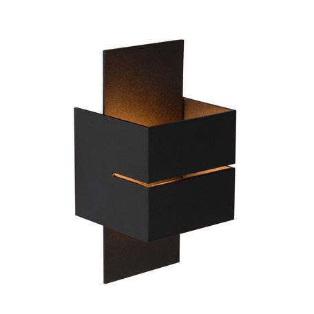 Настенный светильник Lucide Cubo 23209/10/30, 1xG9x40W, черный, металл