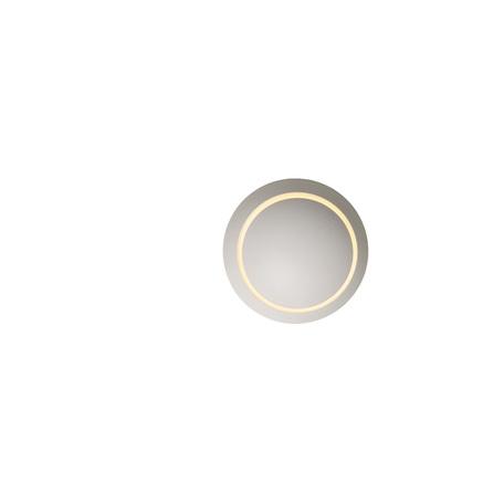 Настенный светодиодный светильник Lucide Luna 23240/04/31, IP54, LED 4W 3000K 360lm CRI80, белый, металл