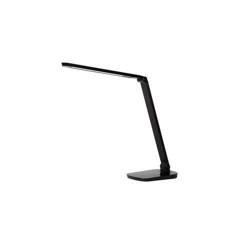 Настольная светодиодная лампа Lucide Vario-LED 24656/10/30, LED 8W 2700K 460lm CRI80, черный, металл, пластик