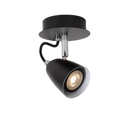 Потолочный светильник с регулировкой направления света Lucide Ride 26956/05/30, 1xGU10x5W, черный, металл