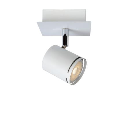 Потолочный светильник с регулировкой направления света Lucide Rilou 26994/05/31, 1xGU10x5W, белый, металл