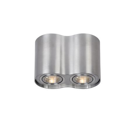 Потолочный светильник Lucide Tube 22952/02/12, 2xGU10x35W, матовый хром, металл
