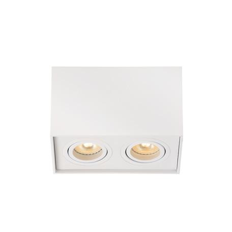 Потолочный светильник Lucide Tube 22953/02/31, 2xGU10x42W, белый, металл