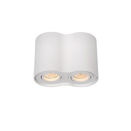 Потолочный светильник Lucide Tube 22952/02/31, 2xGU10x35W, белый, металл