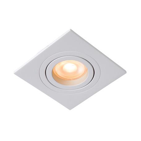 Встраиваемый светильник Lucide Tube 22955/01/31, 1xGU10x42W, белый, металл