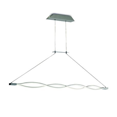 Подвесной светильник Mantra Sahara 4864, матовый хром, белый, металл, пластик