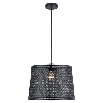 Подвесной светильник Lussole LGO Athens LSP-9962, IP21, 1xE27x60W, черный, металл