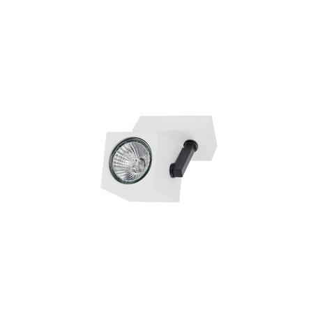 Потолочный светильник с регулировкой направления света Nowodvorski Cuboid 6522 SALE, 1xGU10x35W, белый, черный, металл