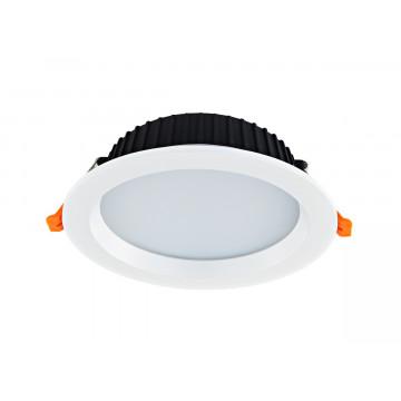 Встраиваемая светодиодная панель с пультом ДУ Donolux Ritm DL18891/24W White R Dim, IP44, LED 24W 3000-6000K 1920lm