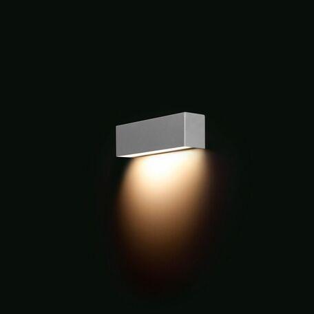 Настенный светильник Nowodvorski Straight 6354, 1xE14x40W, серебро, металл, стекло