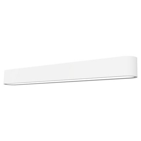 Настенный светильник Nowodvorski Soft 7005, 1xG5T5x24W, белый, металл, пластик