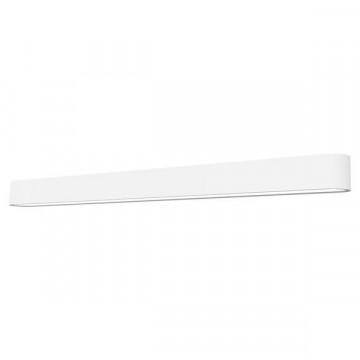 Настенный светильник Nowodvorski Soft 7006, 1xG5T5x39W, белый, металл, пластик
