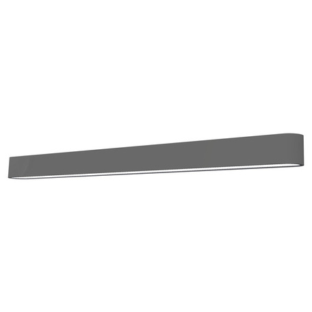 Настенный светильник Nowodvorski Soft 7008, 1xG5T5x39W, белый, серый, металл, пластик