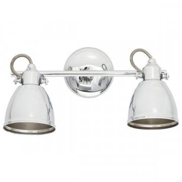 Настенный светильник с регулировкой направления света Nowodvorski Thelon 5658, 2xE14x40W, хром, металл