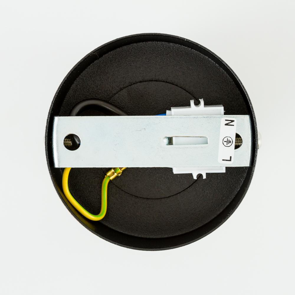 Настенный светильник с регулировкой направления света Nowodvorski Eye Spot 6018, 1xGU10x35W, черный, металл - фото 2