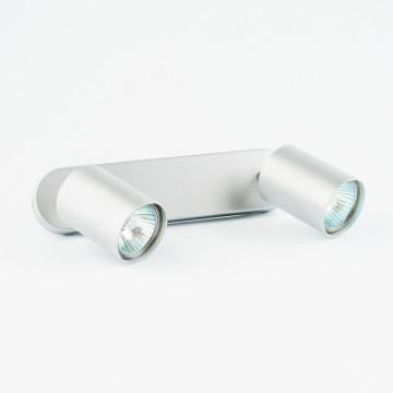 Настенный светильник Nowodvorski Eye Spot 6140, 2xGU10x35W, серебро, металл - миниатюра 2