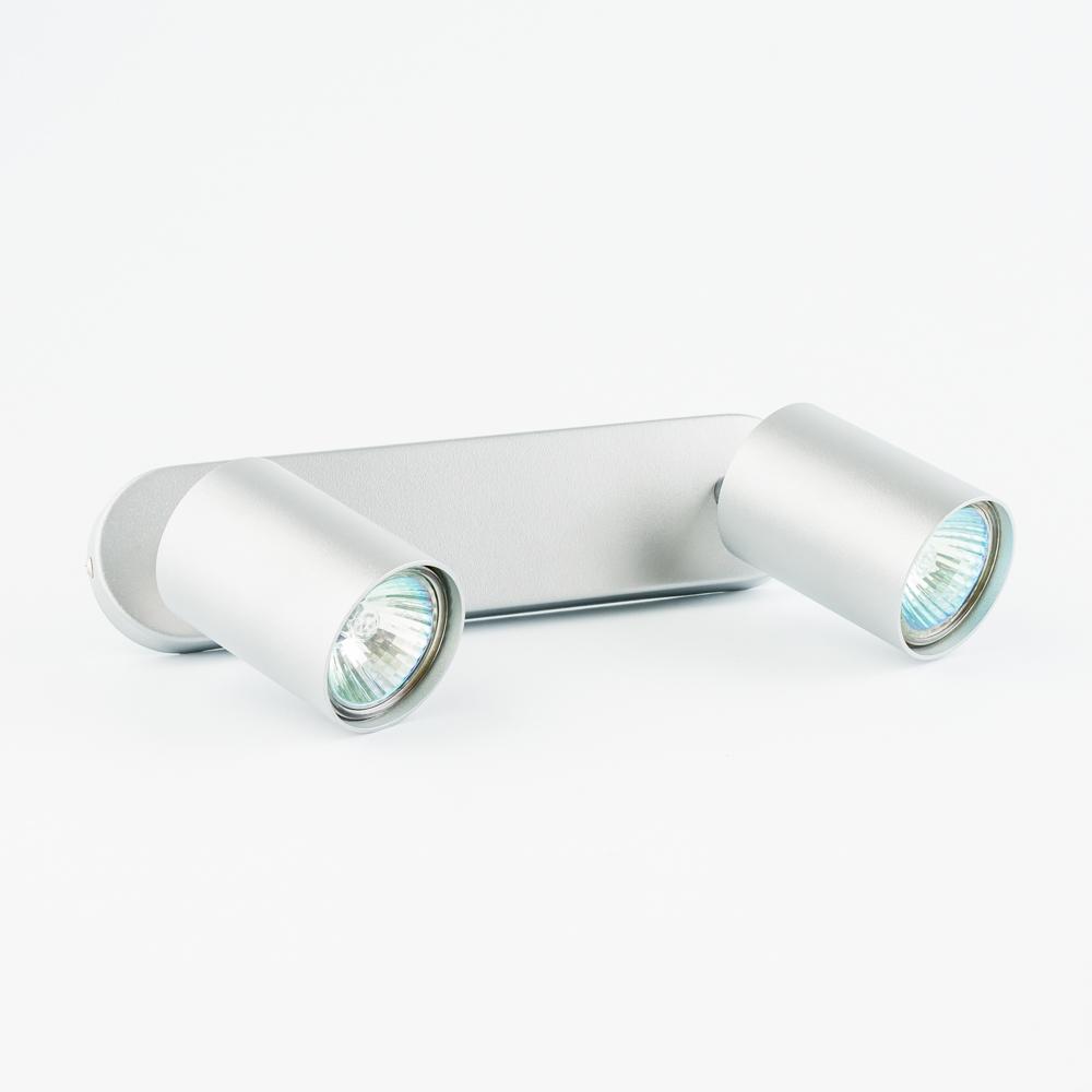 Настенный светильник Nowodvorski Eye Spot 6140, 2xGU10x35W, серебро, металл - фото 2
