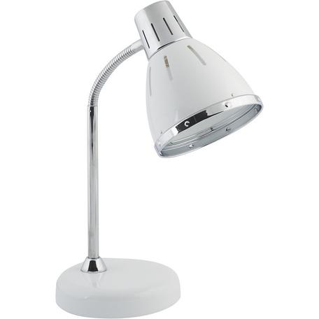 Настольная лампа Nowodvorski MEDINA 5791, 1xE27x25W, белый, хром, металл - миниатюра 1