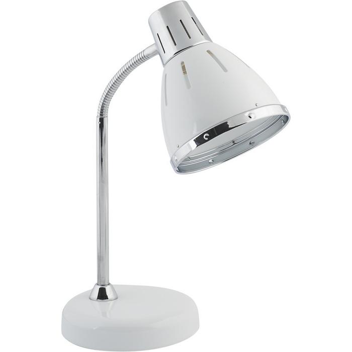 Настольная лампа Nowodvorski MEDINA 5791, 1xE27x25W, белый, хром, металл - фото 1