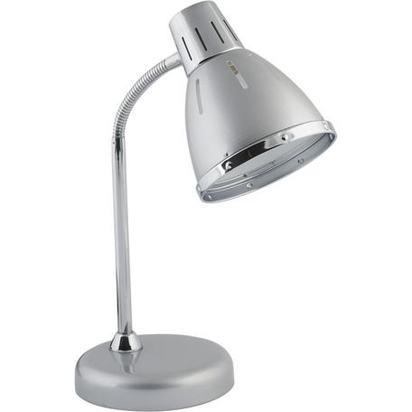 Настольная лампа Nowodvorski MEDINA 5792, 1xE27x25W, серебро, хром, металл