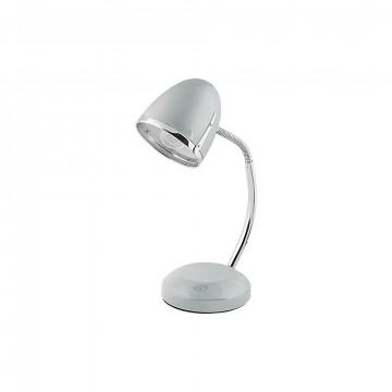 Настольная лампа Nowodvorski Pocatello 5795, 1xE27x18W, серебро с хромом, металл