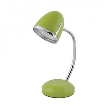 Настольная лампа Nowodvorski Pocatello 5796, 1xE27x18W, зеленый с хромом, металл
