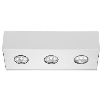 Потолочный светильник Nowodvorski Carson 5575, 3xGU10x50W, белый, металл