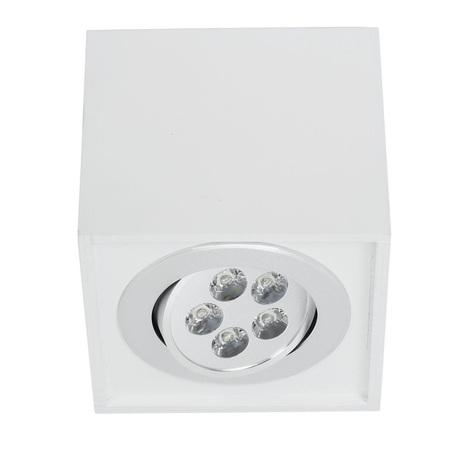 Потолочный светодиодный светильник Nowodvorski Box LED 6415, LED 5W, белый, дерево, металл